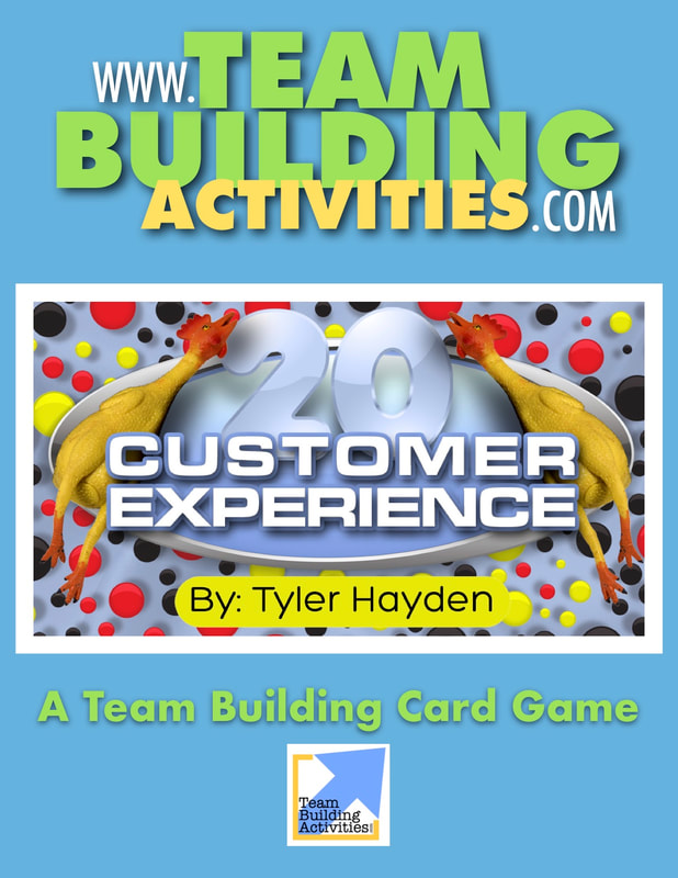 Team Building Activities, Book Cover, Tyler Hayden, www.teambuildingactivities.com, blue cover, rubber chickens