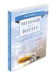 Team Building Activities, Book Cover, Tyler Hayden, www.teambuildingactivities.com, message in a bottle book, blue, fathers, book cover