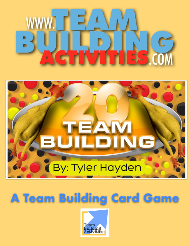 Team Building Activities, Book Cover, Tyler Hayden, www.teambuildingactivities.com, rubber chickens, beige colour