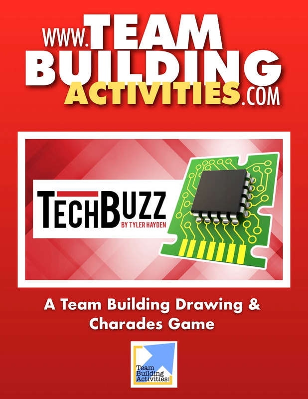 Team Building Activities, Book Cover, Tyler Hayden, www.teambuildingactivities.com, red book cover, computer chip