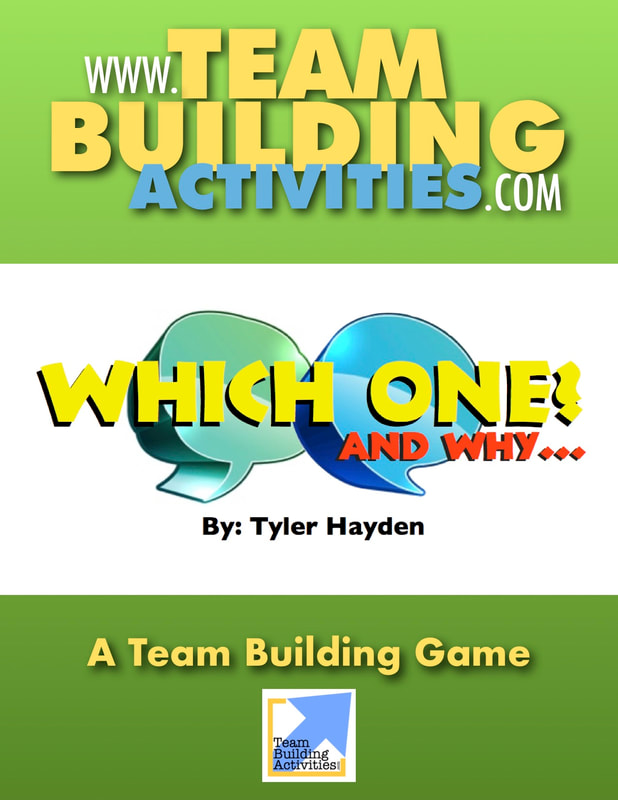Team Building Activities, Book Cover, Tyler Hayden, www.teambuildingactivities.com, talk bubbles, green book cover